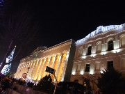 ,Tbilisi,,New Year's Gift,New Years Day,Light, Lightning, Illumination,Night,,Building, Edifice,Architecture