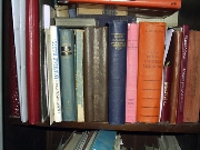 Books,Book,Shelf,Cupboard,Colored,,Orange,Alizarin Blue,Green,Space Suppression